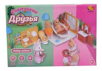 Набор мебели ABtoys Счастливые друзья для ванной комнаты pt-00314