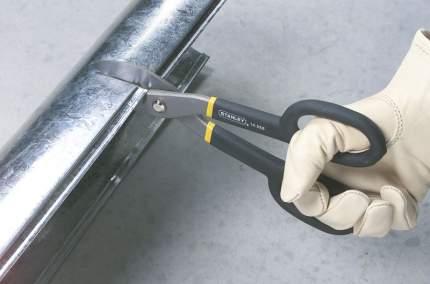 Ножницы Stanley MaxSteel 2-14-556 прямые