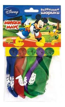 Набор шаров BELBAL Disney. Микки Маус 30 см 5 шт.