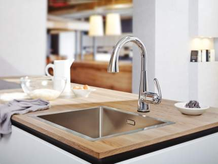 Смеситель для кухонной мойки Grohe Zedra Touch 30219000 хром