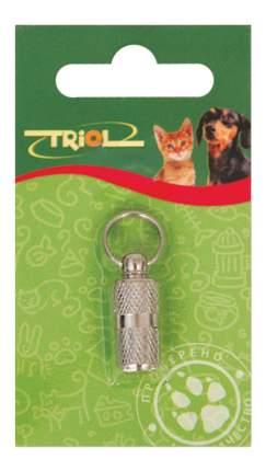 Адресник-капсула для кошек и собак Triol, сталь