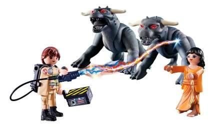 Игровой набор Playmobil PLAYMOBIL Охотники за привидениями: Питер Венкман и ужасные собаки