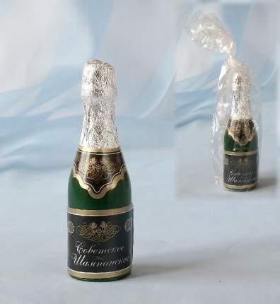 Свеча новогодняя Омский свечной завод 3971 Шампанское 13 см