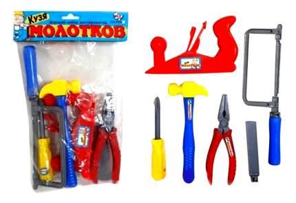Набор игрушечных инструментов Zhorya Кузя Молотков 6 предметов