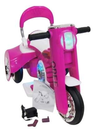 Электромобиль Moto розовый RIVERTOYS