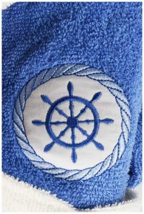 Халат банный KARNA SILVER 913/1 цвет Голубой 8-9 лет