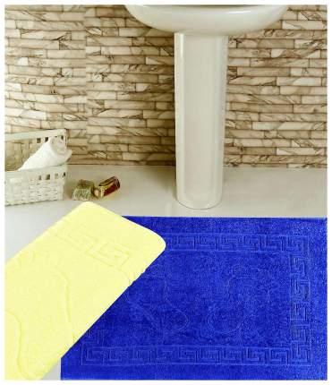 Коврик для ванной Elegante Ножки Синий 50х70