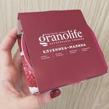 Гранола Granolife  клубника-малина 60 г