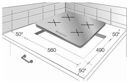Встраиваемая варочная панель электрическая Beko HIC 64400 E Black