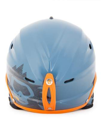 Горнолыжный шлем Sky Monkey VS670 2018, серый/голубой, XL