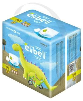 Подгузники-трусики Elibell Xxl (15-26 Кг) 26 шт..