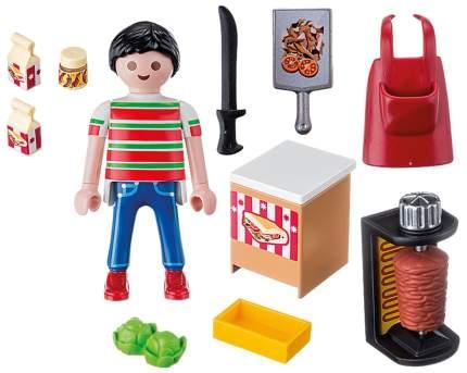 Игровой набор Playmobil Экстра-набор:Продавец кебабов