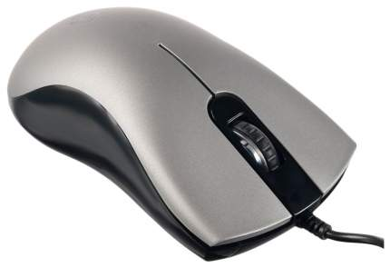 Проводная мышка OKLICK 375M Silver/Black