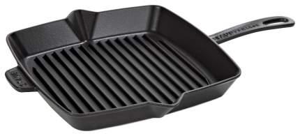 Сковорода-гриль квадратная Zwilling 30х30 см, черная
