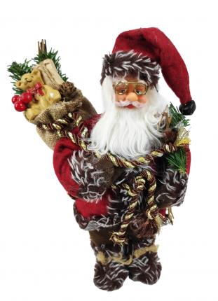 Дед Мороз под елку SaintNik (9123-1) 0,3м