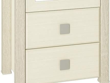 Платяной шкаф Компасс-мебель Изабель ИЗ-17 KOM_IZ17_1 55x40x210, береза снежная/клен