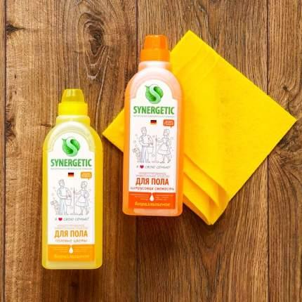Средство для мытья пола Synergetic цитрусовая свежесть 0.75 л