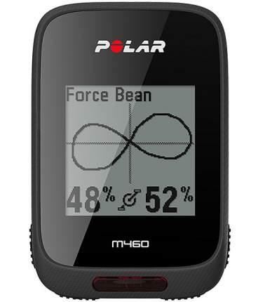 Велокомпьютер Polar M460 черный