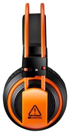 Игровые наушники Canyon CND-SGHS5 Orange/Black
