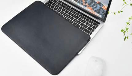"Чехол для MacBook Pro 13"" 2016 Wiwu Skin Pro Leather Black"