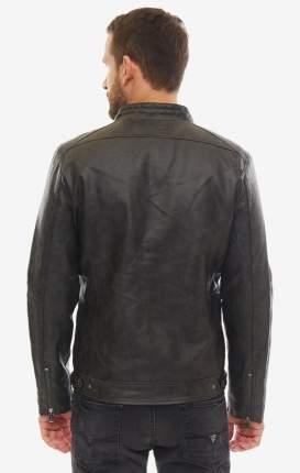 Куртка кожаная мужская Guess M93L19-WBS60-JBLK черная M