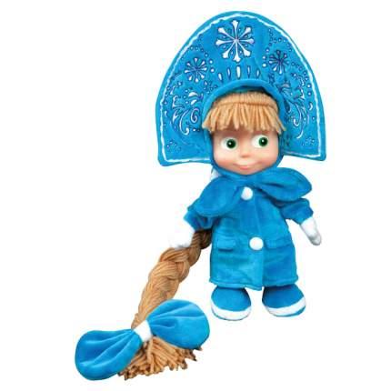 Мягкая игрушка Мульти-Пульти Маша-снегурочка, пласт.лицо (м/ф маша и медведь) 30 см