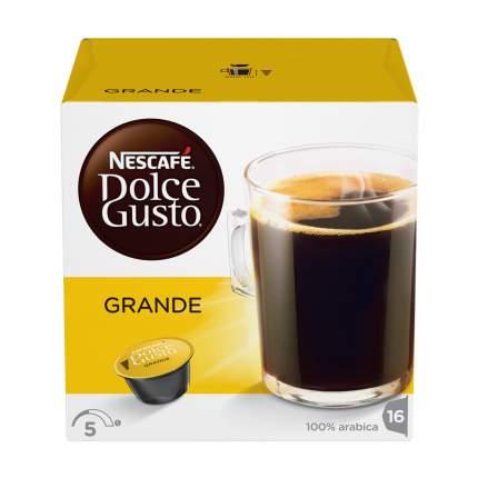 Кофе в капсулах Nescafe Dolce Gusto cafe crema grande 16 капсул