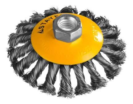 Коническая кордщетка для угловых шлифмашин Stayer 35135-100