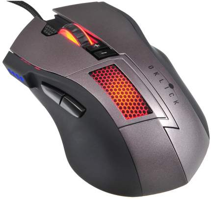 Проводная мышка OKLICK 805G Black