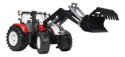 Трактор Bruder Steyr cvt 6230 с погрузчиком