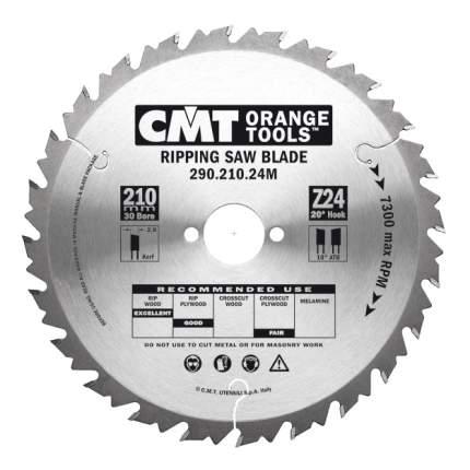 Пильный диск по дереву  CMT 290.210.24M