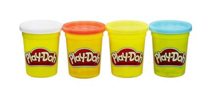 Набор для лепки из пластилина Play-doh из 4 баночек B5517 B6509