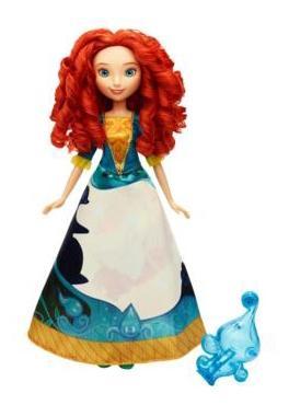 Кукла Disney Принцесса Мерида в юбке с проявляющимся принтом