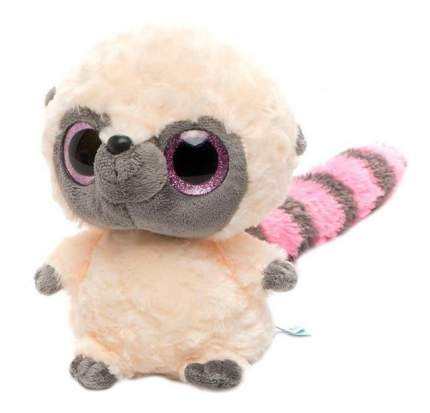 Мягкая игрушка Aurora Юху и его друзья 67-200 Юху Розовый, 20 см блестящие глазки
