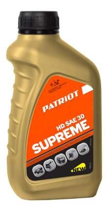 Для четырехтактных двигателей PATRIOT SUPREME HD SAE 30 4T 850030629