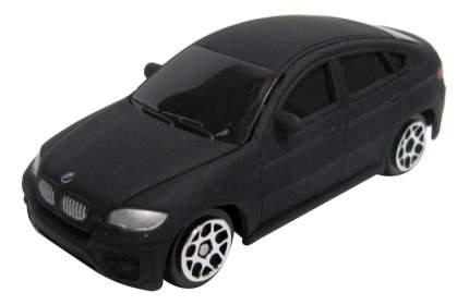 Машина металлическая Uni-Fortune 1:64 BMW X6 без механизмов черный матовый