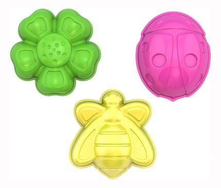 """Формочки """"божья коровка, пчелка, цветочек"""""""