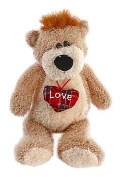 Мягкая игрушка Fluffy Family Медведь Умник 16 см озвученный