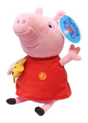 Мягкая игрушка Росмэн Мягкая игрушка Пеппа с игр звук 30 см Рерра Рig 30117