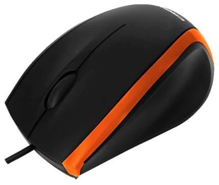 Проводная мышка Crown CMM-009 Orange/Black