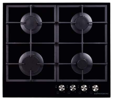 Встраиваемая варочная панель газовая KUPPERSBERG fQ6TG B Black