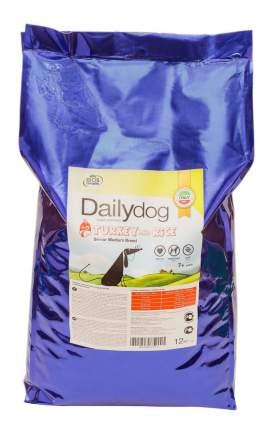 Сухой корм для собак Dailydog Senior Medium Breed для пожилых средних пород, индейка, 12кг