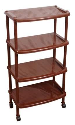 Этажерка BranQ для легкой обуви 4 полки коричневый (BQ2814КЧ)