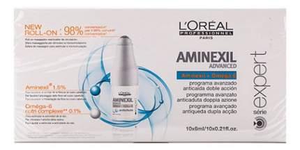 Ампулы для волос L'Oreal Paris Aminexil Advanced против выпадения волос 10х6 мл