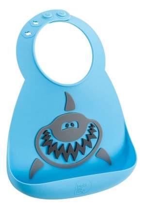 Нагрудник Make my day Baby Bib Shark