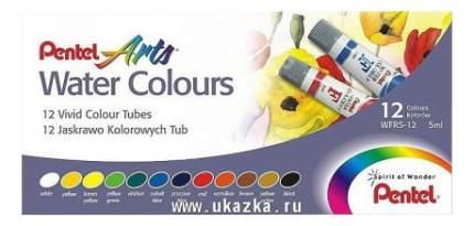 Акварель Pentel Arts Water Colours 12 цветов