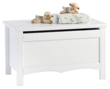 Ящик для игрушек Erbesi Sonia Белый