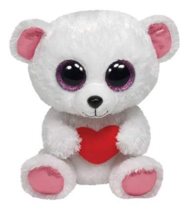Мягкая игрушка LAVA Медвежонок с сердечком Sweetly, 15 см