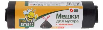 Мешок для мусора BEESMART с завязками 35 л 15 шт