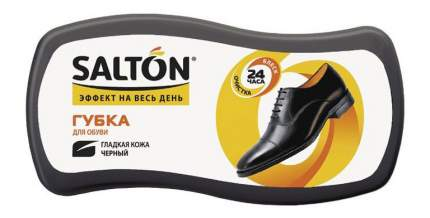 Губка для обуви Salton Волна для гладкой кожи черная
